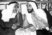 عقد الشيخ زايد اجتماعًا مع حاكم دبي الشيخ راشد بن سعيد آل مكتوم في فبراير عام 1968 واتفقا على حماية المنطقة وإقامة اتحاد يضم الإمارات الخليجية معًا