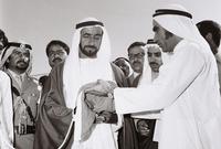أصبح الشيخ زايد هو أول رئيس لدولة الإمارات العربية المتحدة بعد تأسيسها ليصبح الحلم الذي سعى لتحقيقه سنوات طويلة واقعًا