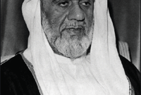 وحاكم أم القيوين الشيخ أحمد بن راشد المعلا