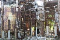 أنكرت الشركة حينها مسؤوليتها عن الحادث، ولكن الحكومة الهندية أصرت على أن تأخر موعد الصيانة وسوء إدارة النفايات الصناعية السبب في وقوع هذه الكارثة