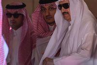 """أبناء الأمير متعب """"الأمير منصور""""، """"الأمير عبدالعزيز"""""""