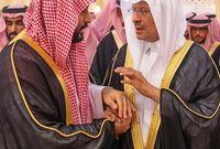 ولي العهد وأخيه الأكبر الأمير عبدالعزيز بن سلمان