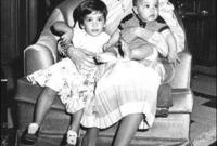 """بعد سنة من الزواج حملت في ابنتها الأولى «هيا»، لكنها كان لديها ابنة بالتبني، قبل أن تضع مولودها الأول وهي الأميرة """"عبير"""" التي قامت علياء بتبنيها في عام 1973، وكانت تبلغ حينها 6 أشهر فقط بعد أن تخلى عنها والدها، بعدما سقطت على منزلهم طائرة (توبوليف) لم يصب الأب بأذى بينما بقيت الطفلة عبير لمدة 4 ساعات تحت ركام المنزل وحطام الطائرة."""