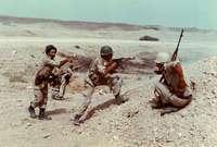خلال الحرب العراقية الإيرانية كانت القاعدة تؤوي ثلاثة أسراب من طائرات ميغ الروسية