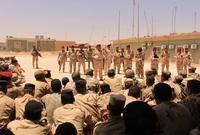 وحين تسلمتها القوات العراقية فأصبحت مركزا للفرقة السابعة من الجيش