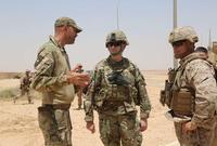 وفي عام 2014 استعادت القاعدة أهميتها نظرا لاحتضانها جنودا وضباطا ومستشارين عسكريين أميركيين