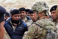 ويقدم المستشارين العسكريين الأميركيين في هذه القاعدة الدعم للقوات العراقية في حربها على تنظيم الدولة الإسلامية