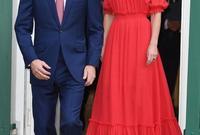تقدم لخطبتها بطريقة رومانسية حيث قام الأمير ويليام و الدوقة كاثرين عام 2010 برحلة إلى جبال كينيا وهناك قدّم لها خاتم والدته الراحلة الأميرة ديانا وطلب يدها