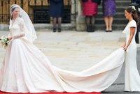فستان الأميرة كاثرين في حفل زفافها