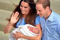 أول صور ملتقطة للأمير جورج بعد ولادته