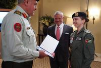 أصبحت الأميرة سلمى أول فتاة أردنية تجتاز مرحلة التدريب الأساسي كطيار على طائرات الجناح الثابت
