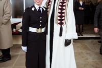 كما علقت الملكة رانيا بأن ابنتها أثبتت أنها قادرة على تحقيق إنجازات تجعلها مثالًا لبنات الأردن وأنها تمتلك العزيمة والإرادة الكبيرة
