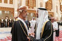 الشيخ محمد بن زايد آل نهيان ولي عهد الإمارات