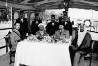 كان يقوم مقام والده في كثير من المهام الخارجية حيث زار عدد كبير من الدول وقابل عدد كبير من الزعماء والملوك والرؤساء