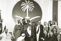 وأسس هيئة عليا للإشراف على المسجد الحرام وتوسعته وأسندها إلى الأمير فيصل بن عبد العزيز آنذاك