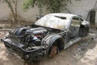كانت حالة هذه السيارة الفارهة تختلف بشكل كبير عما كانت عليه حينما صادرها صدام حسين من الواضح أنه طالها الأذى جراء الغزو الأميريكي
