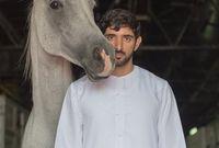 يعشق الأحصنة ويقول أن هذا الأمر يسري في دماء العائلة