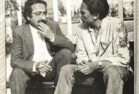 صورة تجمعه بعادل إمام في فترة الثمانينيات