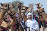 درس ولي العهد فترة التعليم الأساسي في مدارس دبي، وانتقل بعد ذلك لبريطانيا ليتخرج من أحد أشهر الأكاديميات العسكرية، كما حصل على عدد من الدورات التدريبية في الاقتصاد في أحد الكليات الإنجليزية