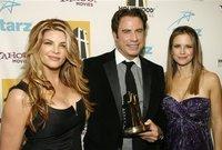 كما حصل على ستة ترشيحات لجائزة جولدن جلوب وفاز بها في عام 1996 عن فيلم Get Shorty