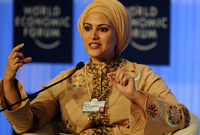 تصدرت قائمة السيدات العربية أكثر تأثيرا لعدة سنوات متتالية من عام 2009 وحتى عام 2015