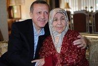 أما والدته فهي السيدة تنزيل أردوغان