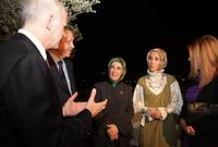 دخلت المجال السياسي عام 2010 حين عملت بحزب العدالة والتنمية الذي كان يرأسه والدها قبل أن تصبح إحدى مستشاريه عام 2013 حين كان في منصب رئيس الوزراء
