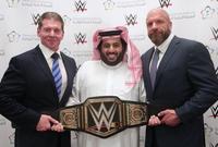 كما وقع اتفاقية مع اتحاد المصارعة العالمي WWE لإقامة منافسات المصارعة بشكل حصري في السعودية لمدة 10 سنوات