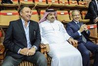 تقلد منصب الرئيس الشرفي للنادي الأهلي المصري في بداية فترة رئيس النادي محمود الخطيب