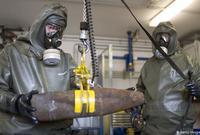 تشمل قنابل تحمل سموما مثل السارين والسومان والخردل والكبريت، واللويزيت والفوسجين تم تدمير ما لا يقل عن 80٪ من الأسلحة الكيميائية، في الولايات المتحدة وروسيا