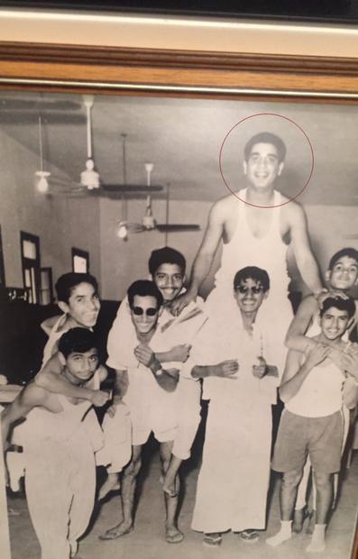 ولد ناصر الخرافي عام 1944 لرجل الأعمال الشهير محمد عبد المحسن الخرافي، درس في شبابه في القاهرة في كلية فيكتوريا بالإسكندرية، ثم استكمل دراسته في انجلترا حيث درس إدارة الأعمال