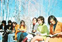 فمن حيث الشكل الاجتماعي في إيران قبل الثورة الإسلامية كانت توجد حرية كبيرة في أغلب المجالات فلم يكن هناك قيود على المظهر الخارجي أو أنشطة الشباب