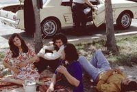 كان يوجد اختلاط بين الرجال والنساء في أغلب الأنشطة سواء في التعليم أو ممارسة الأنشطة الرياضية أو في إقامة الحفلات والمناسبات المختلفة على عكس ما يحدث حاليًا في إيران