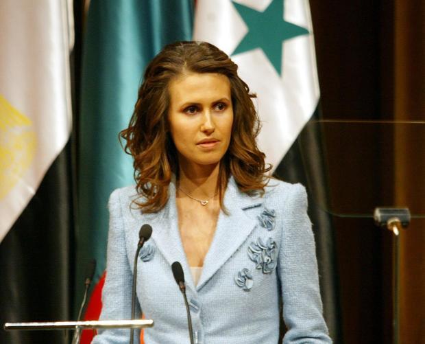 أسماء فوّاز الأخرس زوجة الرئيس السوري بشار الأسد والتي حصلت على لقب عائلة الأسد بعد الزواج لتعرف بأسماء الأسد، من مواليد شهر أغسطس عام 1975