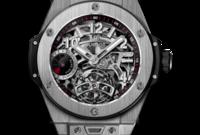 يمتلك ساعة من ماركة hublot مصنوعة من الياقوت يبلغ سعرها 70 ألف دولار