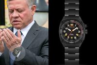 """ويمتلك الملك عبد الله الثاني ملك الأردن ساعة من طراز MTM """"Falcon"""" Special Ops"""