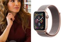 """بينما تمتلك زوجته الملكة رانيا ساعة من طراز Apple Watch """"Series 4"""""""
