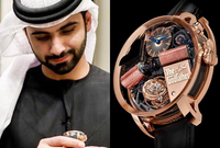 وساعة من طراز jacobandco Opera Godfather