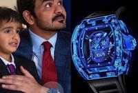 بينما يمتلك الشيخ جوعان بن حمد آل ثاني شقيق أمير قطر أغلى ساعة بين الملوك والأمراء العرب بساعة من طراز INSANE Blue Sapphire Skull Richard Mille RM52-04 Tourbillon