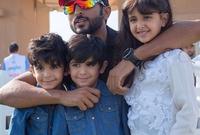 ناصر بن حمد متزوج من الشيخة «شيخة» ابنة نائب رئيس الإمارات العربية المتحدة وحاكم إمارة دبي الشيخ «محمد بن راشد آل مكتوم» ولديه منها 4 أطفال