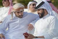 صورة تجمعه بولي عهد دبي