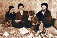 بسبب معارضته، تم نفيه لأكثر من 15 عامًا بدءًا من 1964، حين أصدر الشاه الأخير قراره بنفيه إلى تركيا، ثم إلى النجف الأشرف بالعراق.