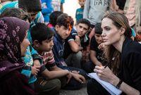 وزارت جولي عدد كبير من دول العالم أبرزها مخيمات اللاجئين بلبنان، ولاجئي الصومال في كينيا، كما أنها زارت أفغانستان وباكستان والصومال وتنزانيا وسيراليون والسلفادور ودارفور وغيرها من المناطق المنكوبة