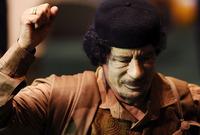 """وصل للسلطة في إنقلاب عسكري خلع به الملك """"إدريس"""" ملك المملكة الليبية عام 1969"""