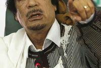 بدأت الإحتجاجات ضد حكمه وتصاعدت إلى الإنتفاضة في جميع أنحاء ليبيا في فبراير 2011