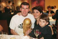 ويلعب كل من إينزو، لوكا وثيو كرة القدم في أكاديمية ريال مدريد