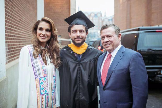 الأمير الحسين بن عبد الله الثاني بن الحسين بن طلال ولي العهد المملكة الأردنية الهاشمية