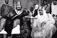 وفي عام 1953 توفي الملك عبد العزيز آل سعود بعد حكم دام أكثر من 51 عام بدأت بسيطرته وحكمه للرياض وإنشاءه للدولة السعودية الثالثة ثم سيطرته على كامل نجد والحجاز ثم إنشاءه للدولة السعودية الحديثة
