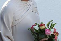 حيث حرصت على ارتداء الأزياء المغربية التقليدية ما أثار إعجاب الجميع بها