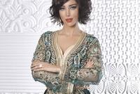 النجمة المغربية بسمة بوسيل زوجة النجم المصري تامر حسني